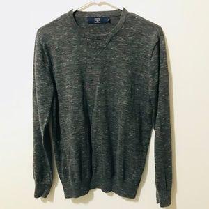 J. Crew Pullover Sweater Gray Crew Neck 600